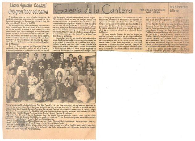 Primera-Promoción-Bachilleres-Liceo-Agustín-Codazzi-Maracay-1950